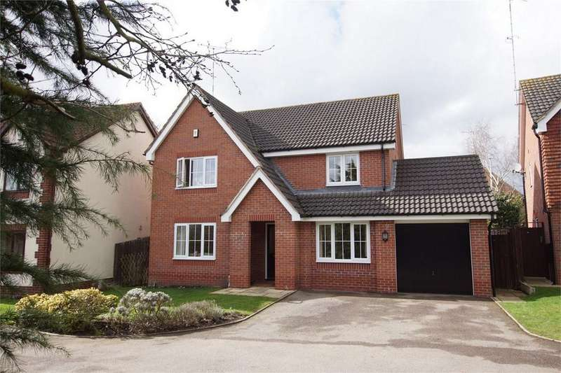 4 Bedrooms Detached House for sale in Rowborough Close, Hatton Park, Hatton Park, Warwick