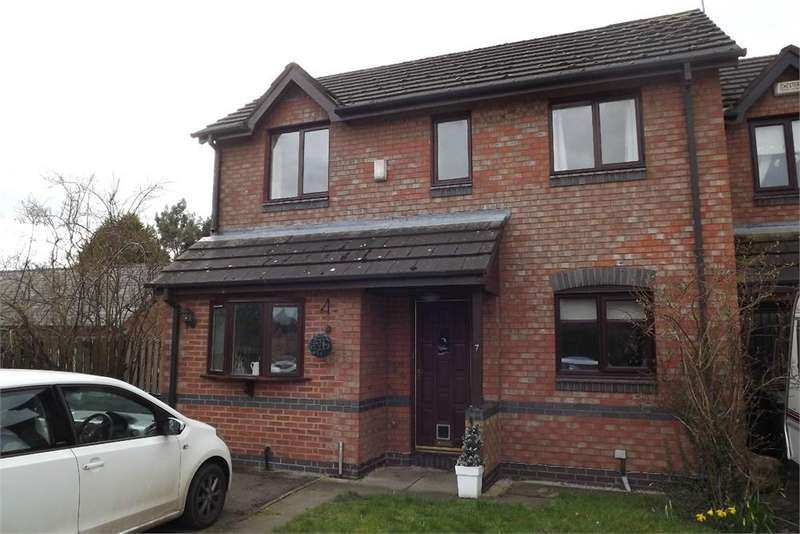 2 Bedrooms Semi Detached House for rent in Honeyfields, Tarporley, Cheshire