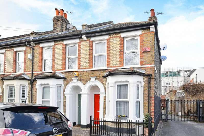 2 Bedrooms End Of Terrace House for sale in Aitken Road, Catford