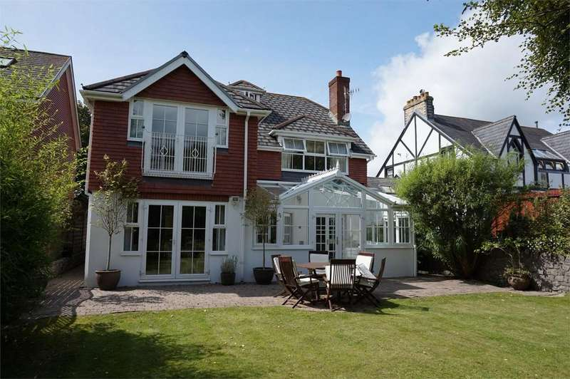 4 Bedrooms Detached House for sale in Overland Road, Mumbles, Swansea