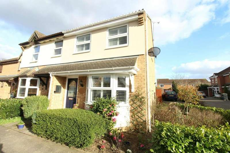 3 Bedrooms Semi Detached House for sale in Barleyfields, Witham, Essex, CM8