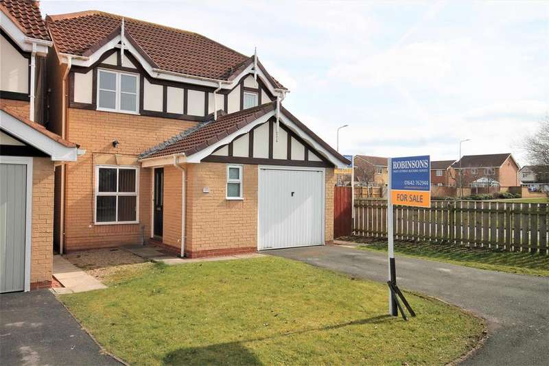 3 Bedrooms Detached House for sale in Harbottle Close, Ingleby Barwick