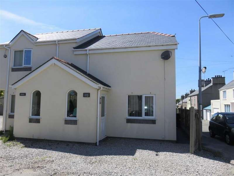 2 Bedrooms Semi Detached House for rent in Chapel Street, Amlwch, Anglesey