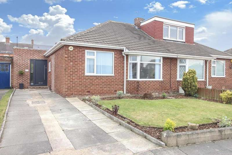 2 Bedrooms Semi Detached Bungalow for sale in Chantry Drive, Wideopen, Newcastle Upon Tyne