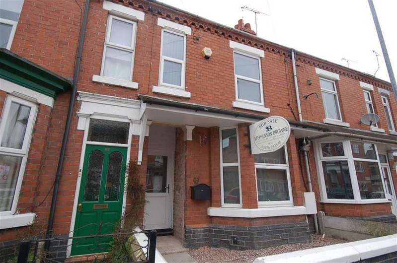 2 Bedrooms Terraced House for sale in Brooklyn Street, Crewe