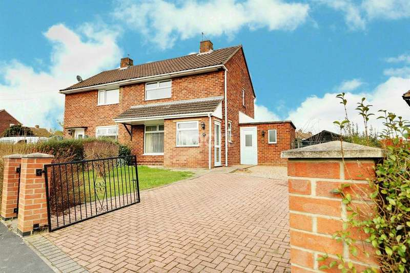 2 Bedrooms Semi Detached House for sale in Laughton Way North, Lincoln