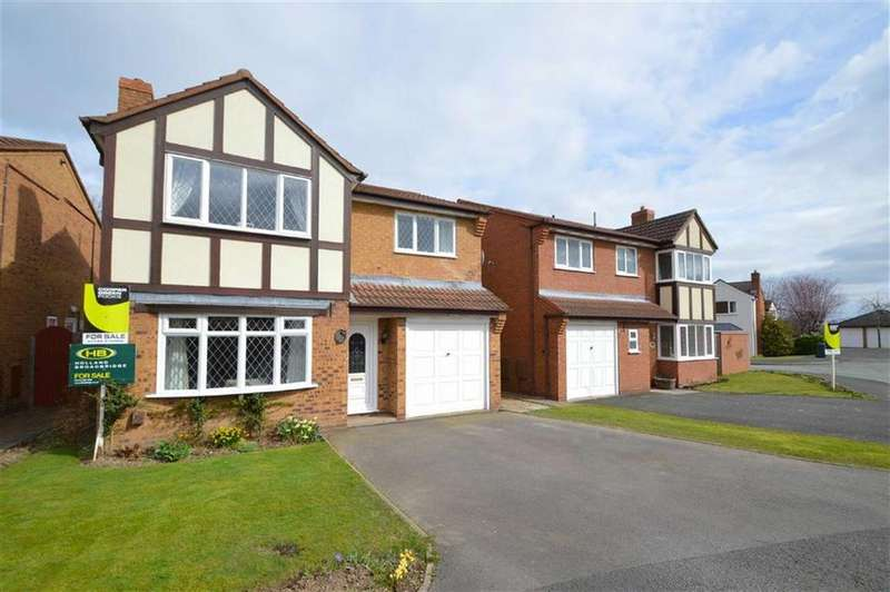 4 Bedrooms Detached House for sale in Sedgeford Drive, Belvidere, Shrewsbury