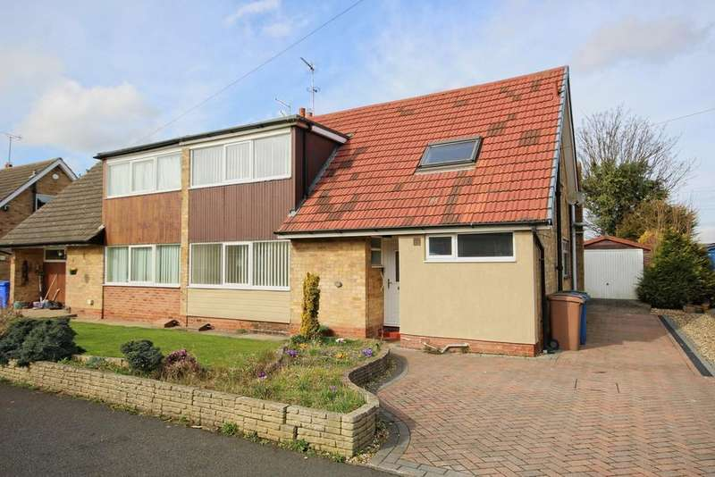 4 Bedrooms Semi Detached Bungalow for sale in Orchard Road, Skidby, Cottingham, HU16