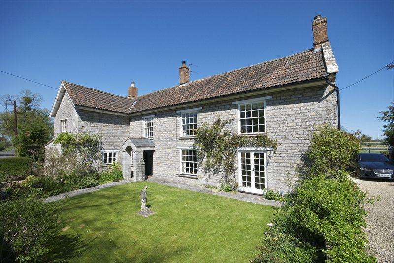 5 Bedrooms Detached House for sale in Ham Street, Glastonbury