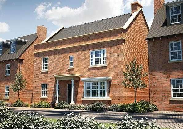 4 Bedrooms Detached House for sale in The Stainsby, Seabrook Orchard, Topsham