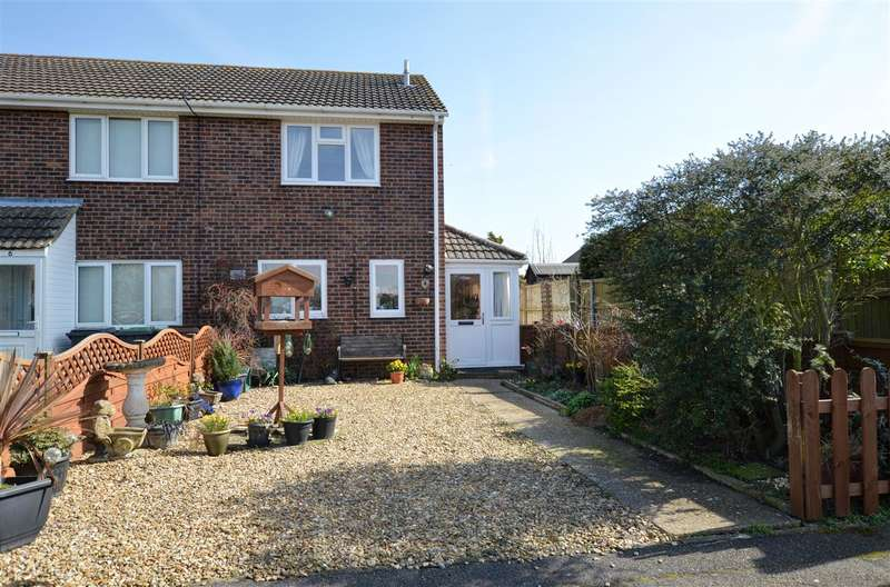2 Bedrooms End Of Terrace House for sale in St Martins Close, Cranwell
