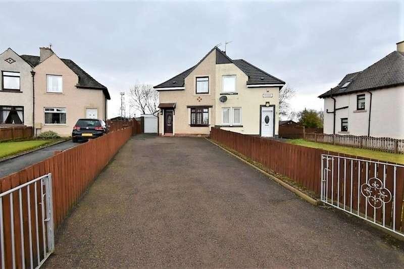 2 Bedrooms Semi Detached House for sale in Mavisbank Gardens, Bellshill, ML4