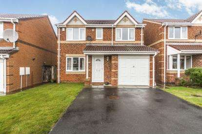 4 Bedrooms Detached House for sale in Railway Close, Sherburn Village, Durham, Durham, DH6