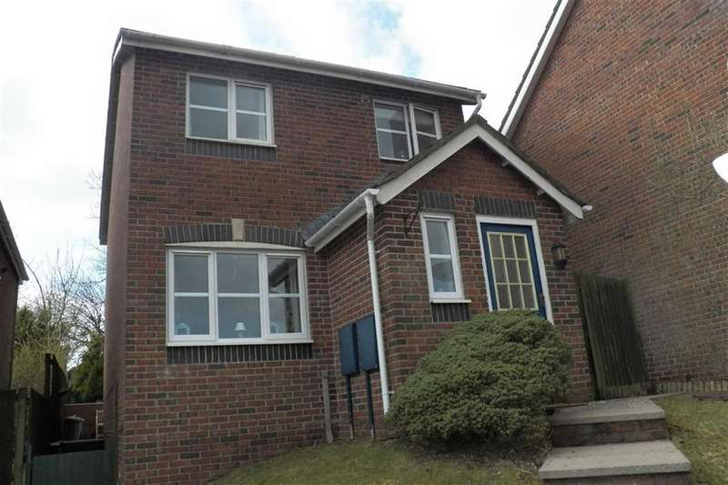 3 Bedrooms Detached House for sale in Allt Ioan, Johnstown
