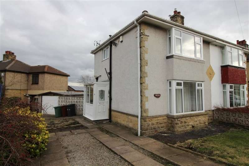 2 Bedrooms Semi Detached House for sale in Moorland Crescent, Pudsey, LS28 8EW