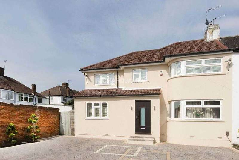 4 Bedrooms Semi Detached House for sale in Ridgemont Gardens, Middlesex