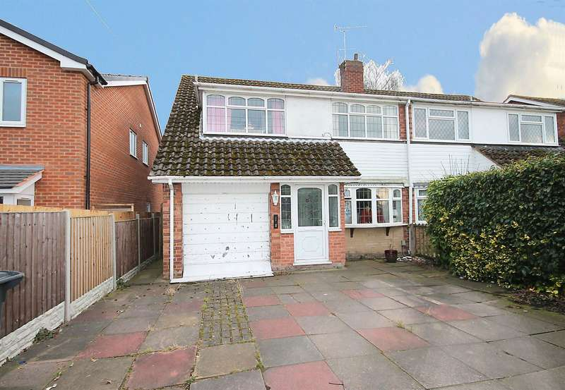 3 Bedrooms Semi Detached House for sale in Reindeer Road, Fazeley, Tamworth, B78 3SL