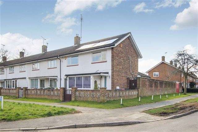 2 Bedrooms End Of Terrace House for sale in Langley Green, Crawley