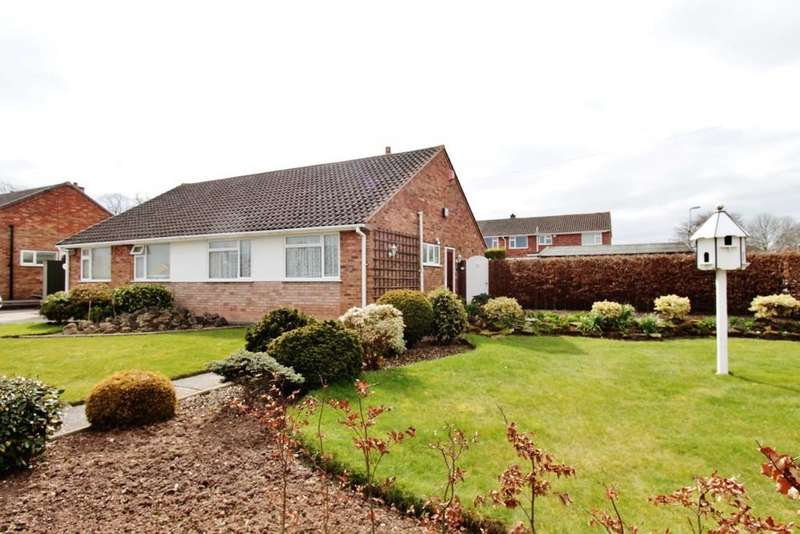 2 Bedrooms Semi Detached Bungalow for sale in Odiham Close, Tamworth