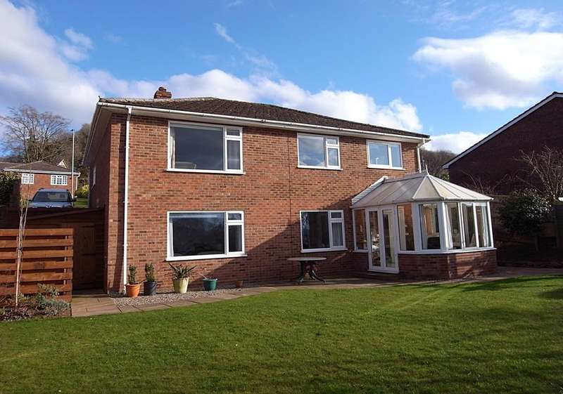3 Bedrooms Detached House for sale in Knapp Ridge, Ledbury