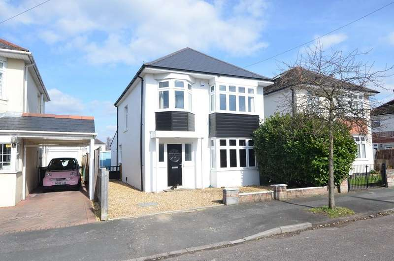 3 Bedrooms Detached House for sale in Bentley Road, Bournemouth