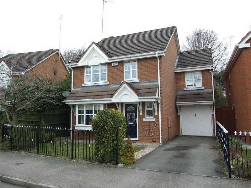 4 Bedrooms Detached House for sale in Rectory Drive, Exhall