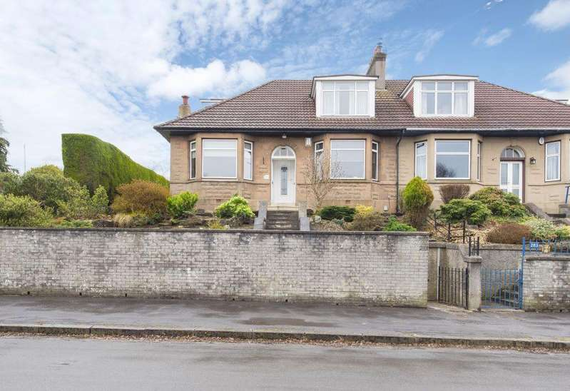 3 Bedrooms Semi Detached House for sale in 281 Churchill Drive, Broomhill, Glasgow, G11 7HE