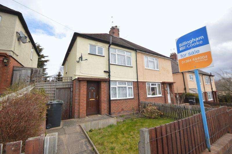 3 Bedrooms Semi Detached House for sale in Bridgnorth Road, Wollaston, STOURBRIDGE