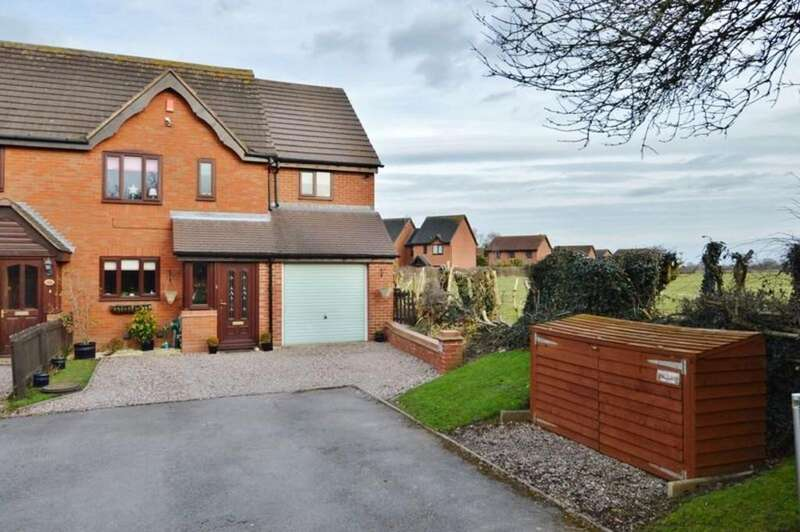 3 Bedrooms Semi Detached House for sale in Peak Close, Armitage