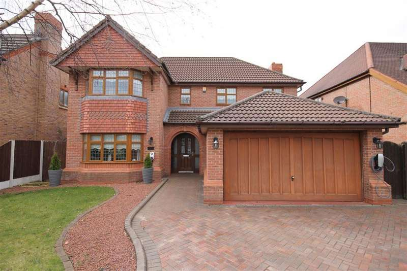 4 Bedrooms Detached House for sale in Stone Cross Drive, Widnes, WA8 9DL