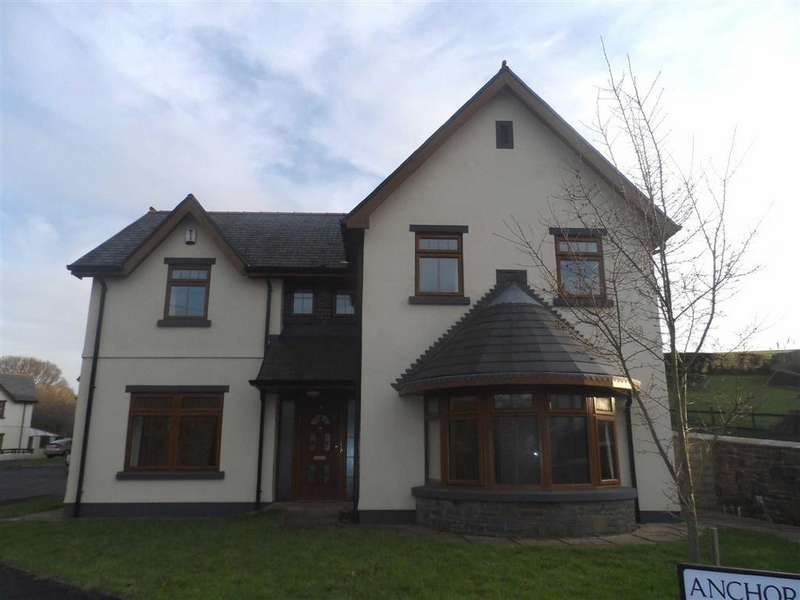 4 Bedrooms Detached House for sale in Anchor Court, Penclawdd, Swansea