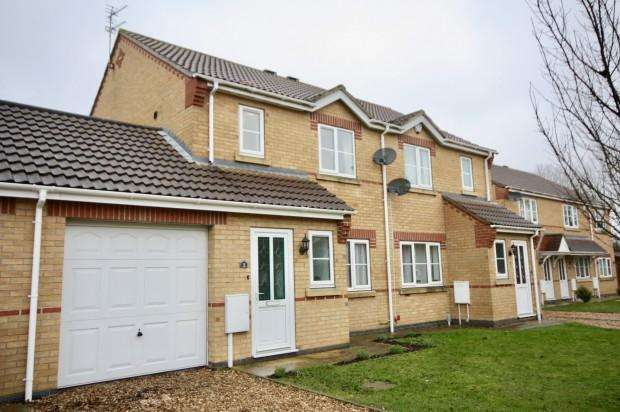 3 Bedrooms Semi Detached House for sale in Eastholm, Lincoln, LN2