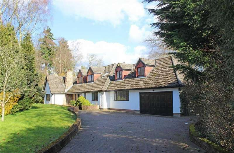 5 Bedrooms Detached House for sale in Woodlands, Monmouth