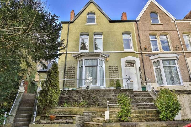 5 Bedrooms End Of Terrace House for sale in Cwmdonkin Terrace, Uplands, Swansea