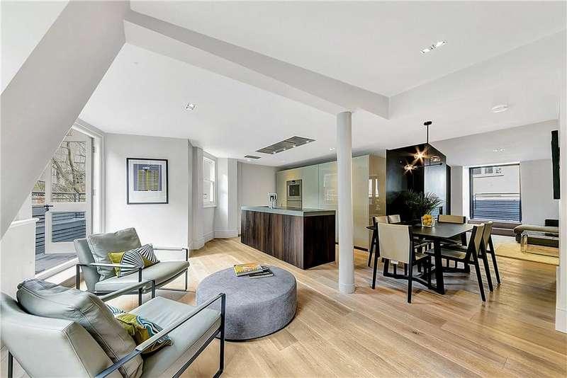 2 Bedrooms Maisonette Flat for sale in St. Olave's Court, St Paul's, London, EC2V