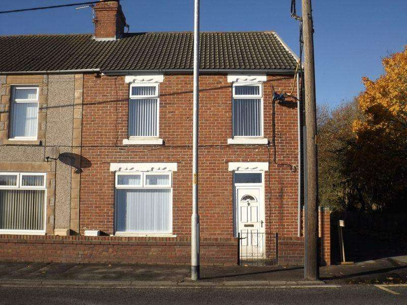 3 Bedrooms End Of Terrace House for sale in Thornley Terrace, Bedlington