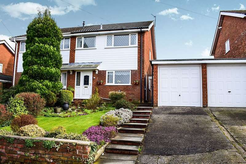 3 Bedrooms Semi Detached House for sale in Woodfield Avenue, Hyde, SK14