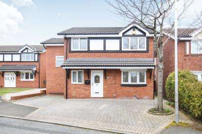 4 Bedrooms Detached House for sale in Calderbrook Drive, Cheadle Hulme, Cheadle, Cheshire