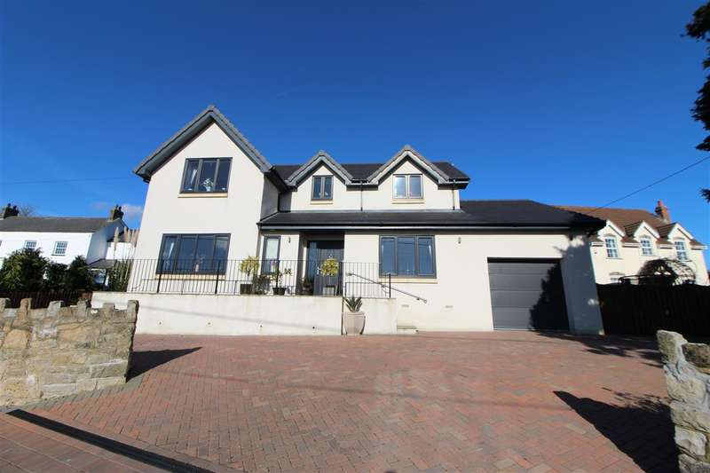 4 Bedrooms Detached House for sale in The Meadows, West End, Undy