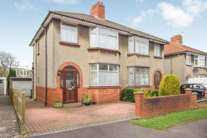 3 Bedrooms Semi Detached House for sale in Grittleton Road, Horfield, Bristol