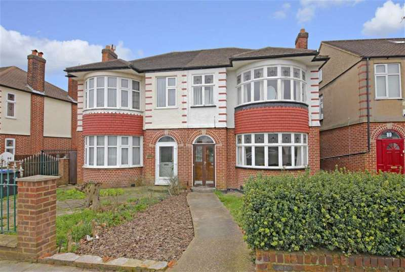 3 Bedrooms Semi Detached House for sale in Halstead Road, Winchmore Hill, London