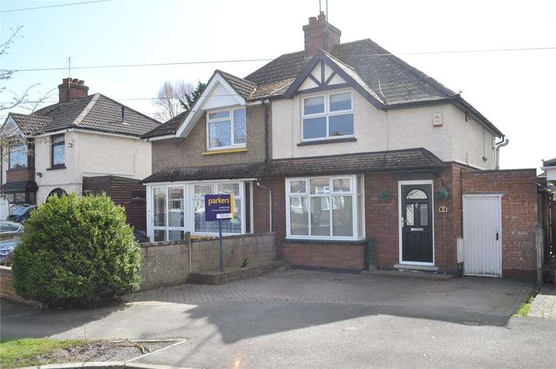 2 Bedrooms Semi Detached House for sale in Copse Avenue, Swindon, Wiltshire, SN1