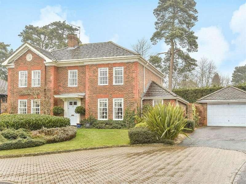 5 Bedrooms Detached House for sale in Fairway Heights, Camberley, Surrey