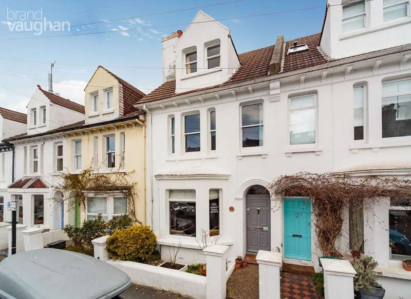 4 Bedrooms Terraced House for sale in Stanley Road, Brighton, BN1
