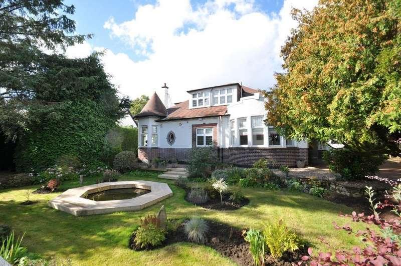 4 Bedrooms Detached Villa House for sale in Burnside Road, Whitecraigs, Glasgow, G46