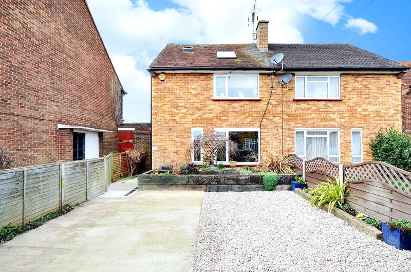 3 Bedrooms Semi Detached House for sale in St. Peters Road, Uxbridge, Middlesex, UB8