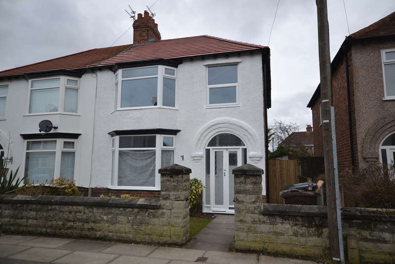 3 Bedrooms Semi Detached House for sale in Rosebery Avenue, Liverpool, L22