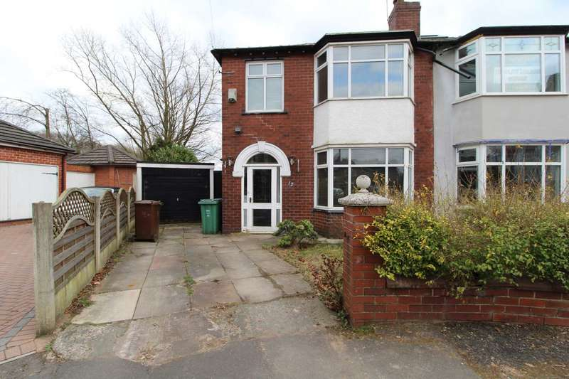 3 Bedrooms Semi Detached House for sale in Sandylands Drive, Prestwich