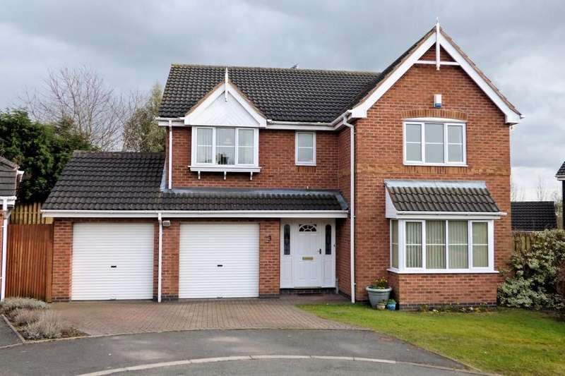 5 Bedrooms Detached House for sale in Grizedale Close, Stapenhill