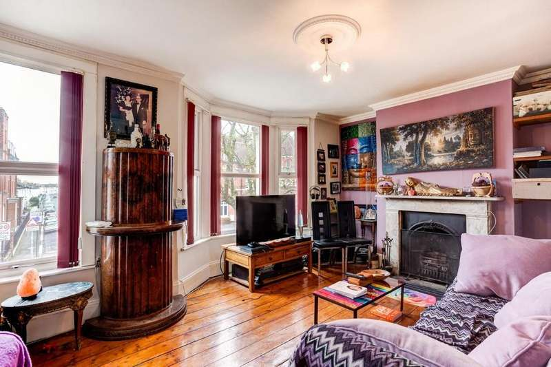 3 Bedrooms Apartment Flat for sale in Sackville Road, Hove